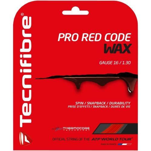 Tecnifibre Pro Red Code Wax 16 1.30: Tecnifibre Tennis String Packages
