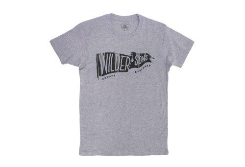 Wilder & Sons Wilder Banner T-Shirt - Men's - athletic heather, small