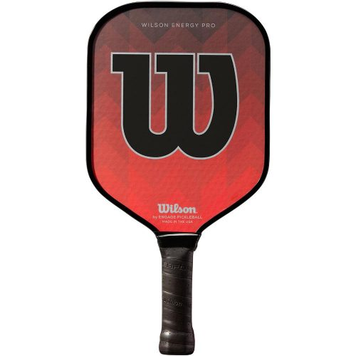 Wilson Energy Pro Red Paddle: Wilson Pickleball Paddles