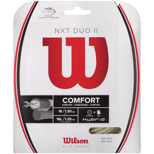 Wilson NXT Duo II Hybrid: Wilson Tennis String Packages
