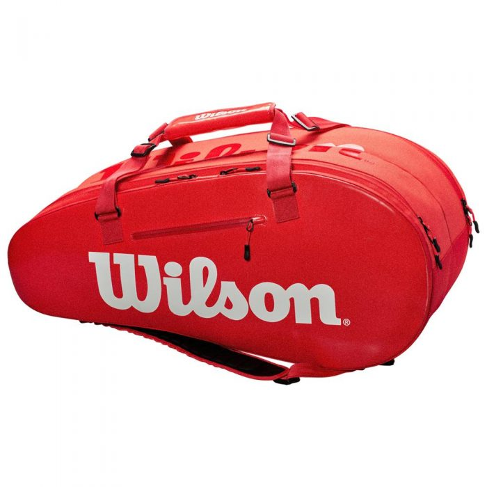 Wilson Super Tour 2 Compartment Large Infrared: Wilson Tennis Bags