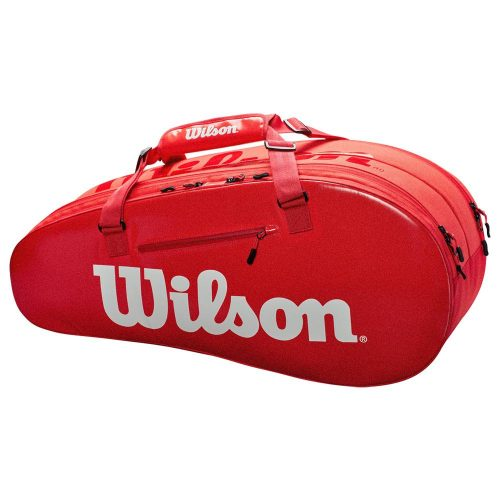 Wilson Super Tour 2 Compartment Small Infrared: Wilson Tennis Bags