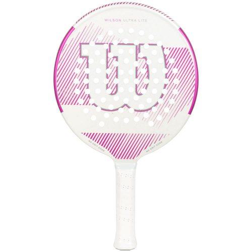 Wilson Ultra Lite White/Pink: Wilson Platform Tennis Paddles