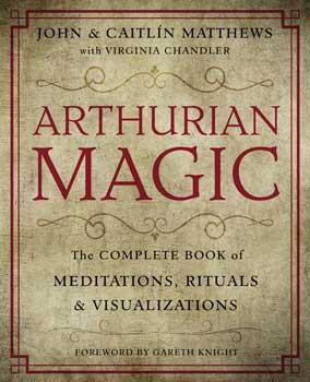 Azure Green BARTMAG Arthurian Magic Practical Guide Book by Matthews & Matthews