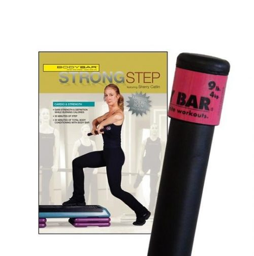 Body Bar K-PD-BB09PlusDVD-SS Strong Step DVD
