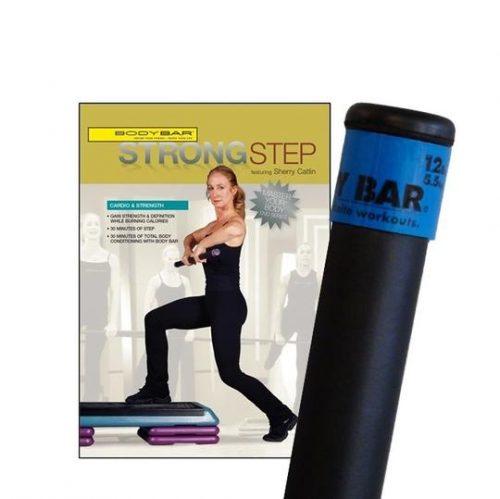 Body Bar K-PD-BB12PlusDVD-SS Strong Step DVD