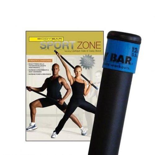Body Bar K-PD-BB12PlusDVD-SZ Sport Zone DVD