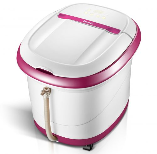 Carepeutic KH307P Touch Screen Oxy-Energized Water Jet Foot & Leg Spa Bath Massager - Purple & White