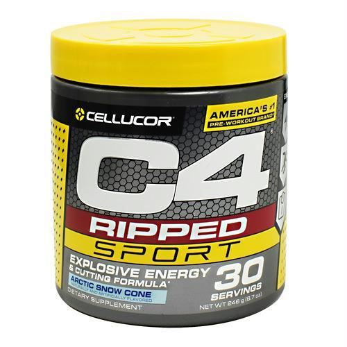 Cellucor 6550177 246 g C4 Ripped Sport Arctic Snow Cone - 30 Servings