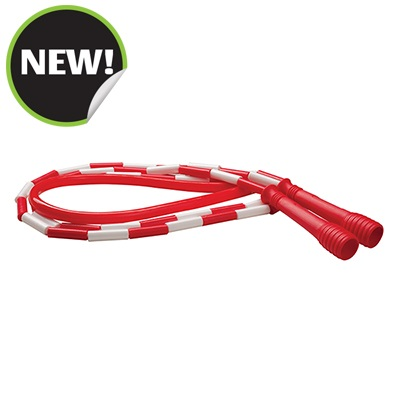 Champion Sports SJ7 7 ft. Deluxe XU Beaded Jump Rope Red
