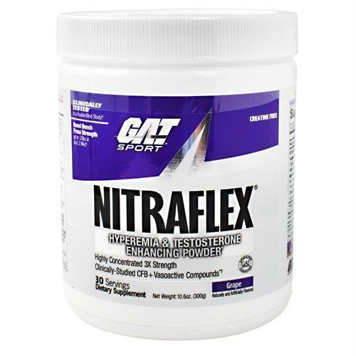 Gat Sport 370160 300 g Nitraflex Grape - 30 Servings