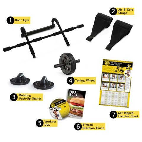 Golds Gym 7 In 1 Home Gym Kit
