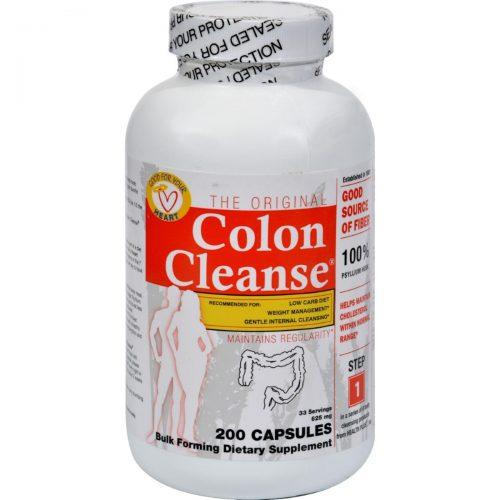 Health Plus HG0485219 The Original Colon Cleanse - 200 Capsules