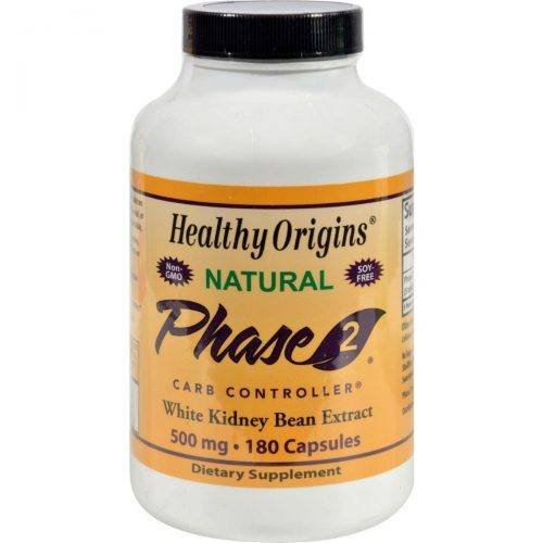 Healthy Origins HG0987636 500 mg Phase 2 Carb Controller - 180 Capsules