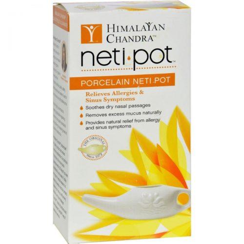 Himalayan Institute Press HG0624510 Neti Wash Ceramic Neti Pot