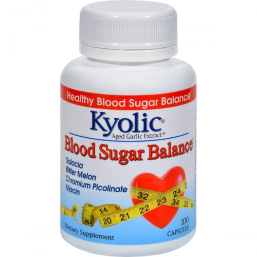 Kyolic HG1085315 Aged Garlic Extract Blood Sugar Balance - 100 Capsules
