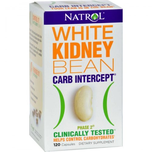 Natrol HG0516120 White Kidney Bean Carb Intercept - 120 Capsules