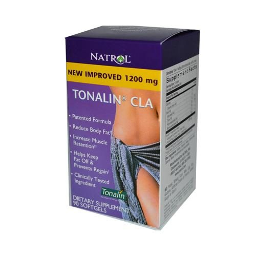 Natrol HG0989509 1200 mg Tonalin CLA - 90 Softgels