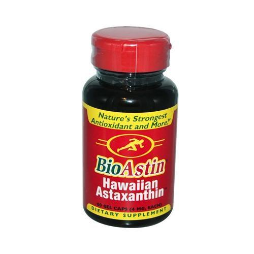 Nutrex Hawaii HG0138933 4 mg Bioastin Natural Astaxanthin - 60 Gelatin Capsules