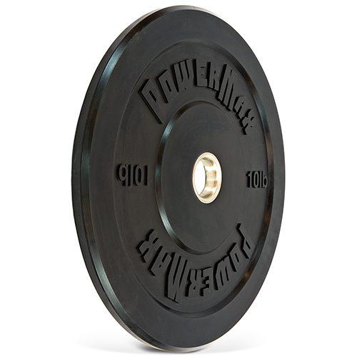 PowerMax PMWT210B 10 lbs Bumper Plate - Black