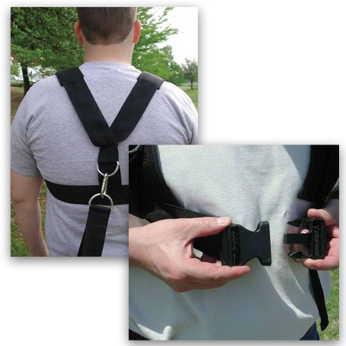 Sport Supply Group 1240054 Fitness Speed And Agility - Multi - Purpose Sled Harness