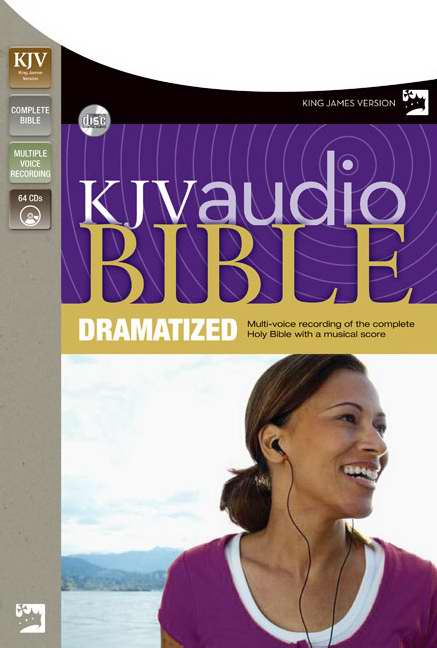 Zondervan 576098 Disc Kjv Complete Bible Dramatized 64 Cd